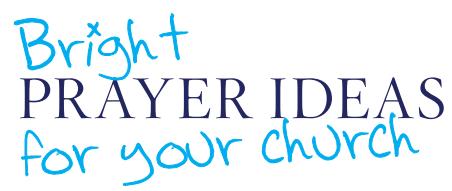 Bright Prayer Ideas For Your Church   Thy Kingdom Come