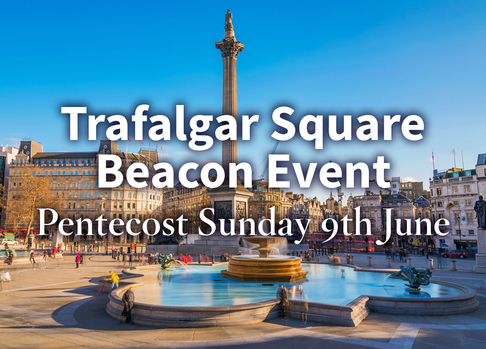 Announcing Thy Kingdom Come Trafalgar Square Beacon Event