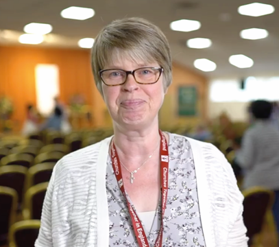 Lynn Green – General Secretary, Baptist Union of Great Britain
