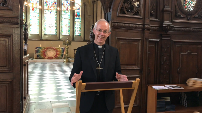 Archbishop of Canterbury Pentecost Reflection