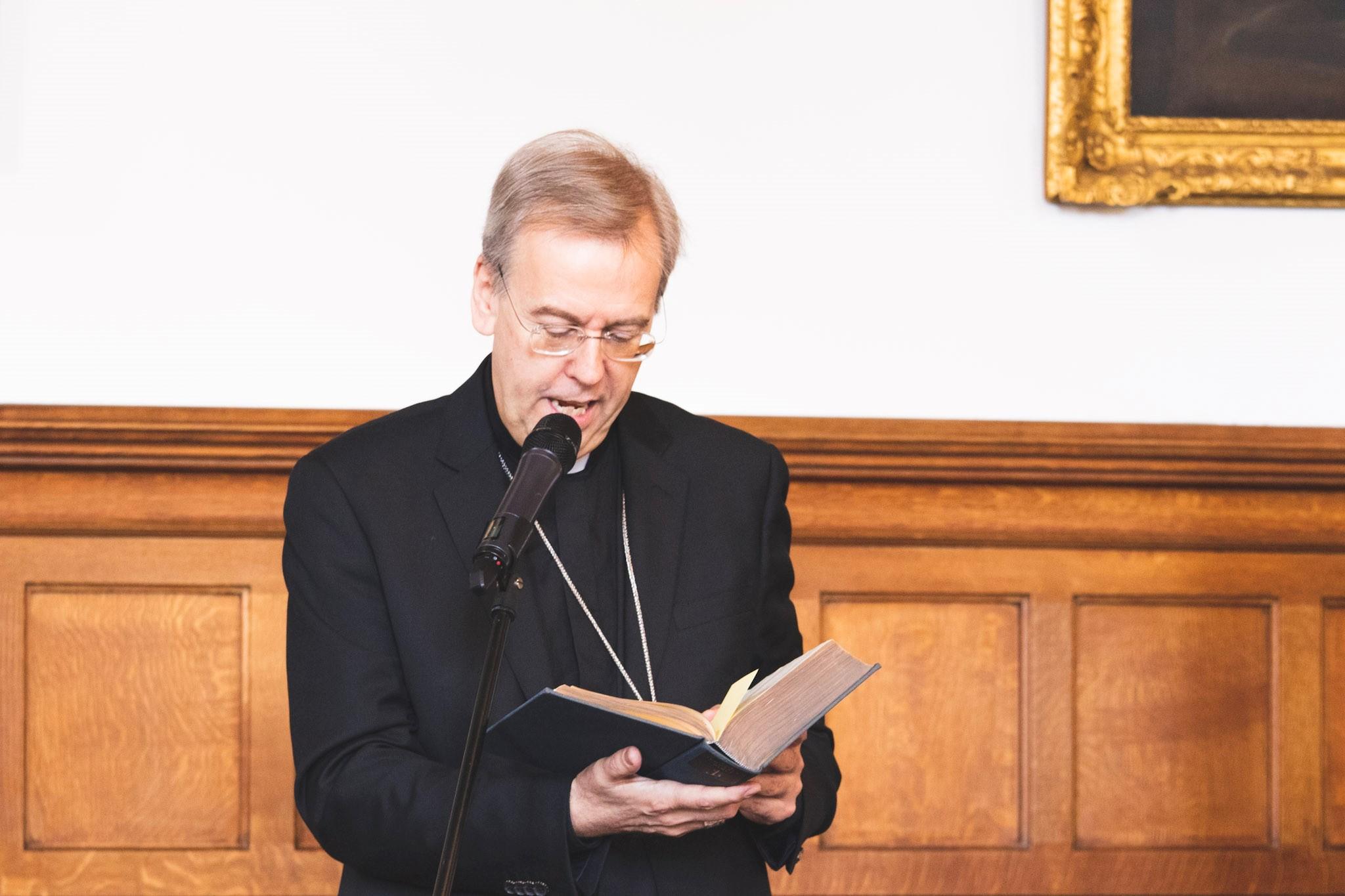 Bishop Nicholas Hudson