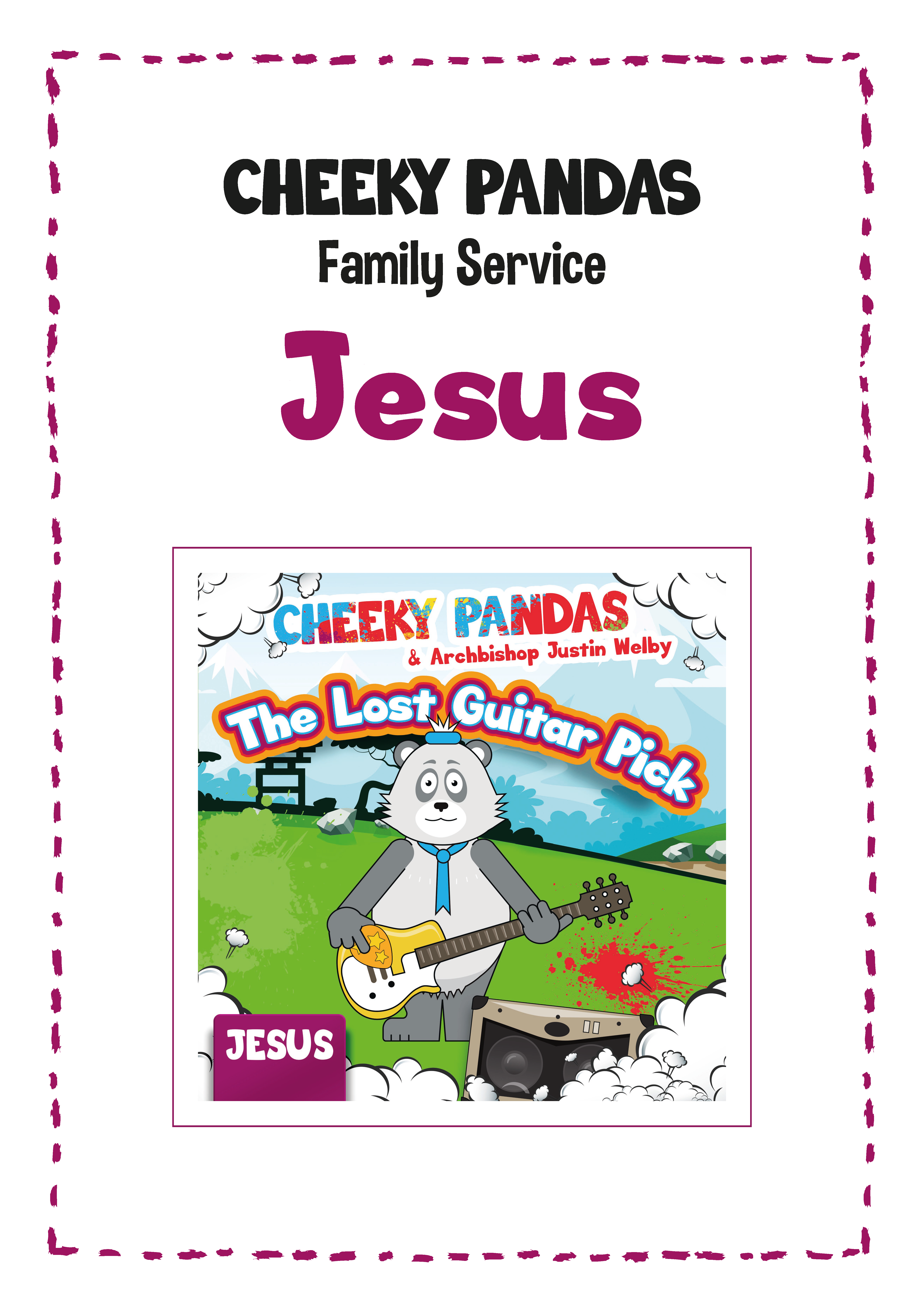 Cheeky Pandas Family Service Plan