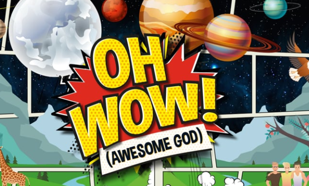 Day 2 Oh Wow! (Awesome God) by Cheeky Pandas