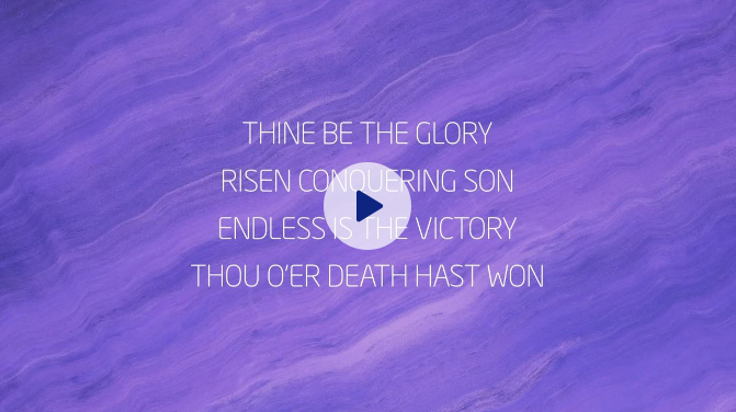 Thine Be The Glory