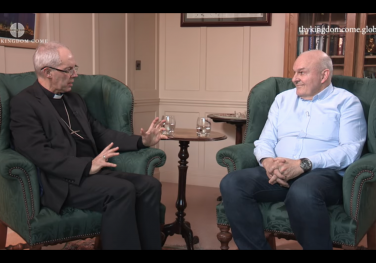 'What do we mean when we pray Thy Kingdom Come?' Archbishop Justin Welby & Roy Crowne