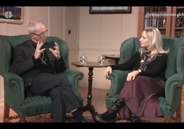 'What do we mean when we pray Thy Kingdom Come?' Archbishop Justin Welby & Debby Wright