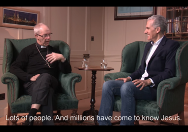 'What do we mean when we pray Thy Kingdom Come?' Rev. Nicky Gumbel & Archbishop Justin Welby