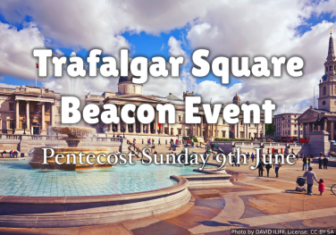 Web Banners and Social Media Images for the Trafalgar Square Beacon Event 2019.